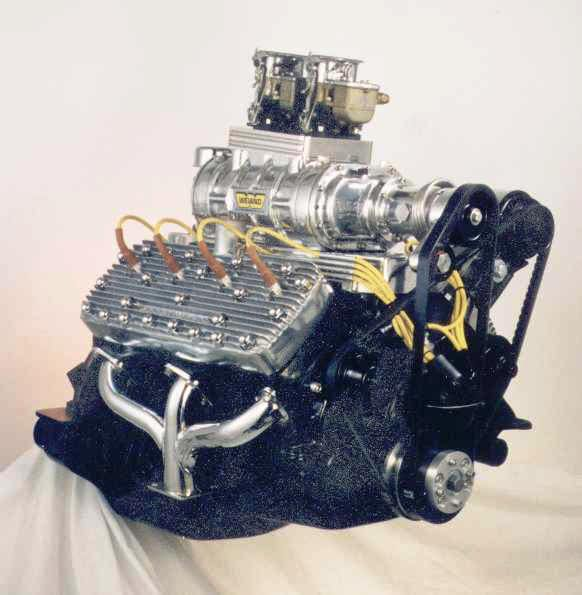 Centrifugal Supercharger For Motorcycle: Ford Flathead Supercharger